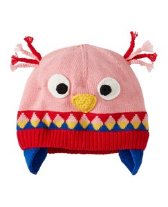 Baby Fleece Lined Critter Hat by Hanna Andersson