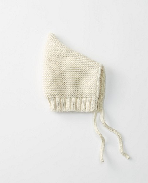 Baby Supersoft Bonnet In Alpaca by Hanna Andersson