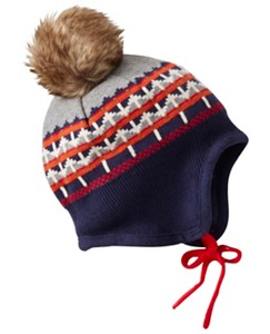 Baby Toddler Multi Hat W/ Pom by Hanna Andersson