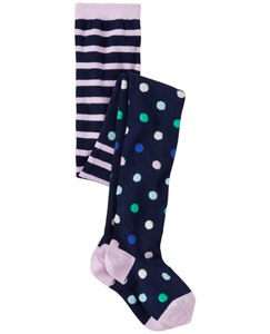 Girls Pitter Pattern Tights by Hanna Andersson