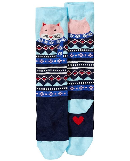 Kids Critter Knee Socks by Hanna Andersson