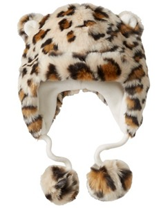 Kids Kit Cat Furry Hat by Hanna Andersson