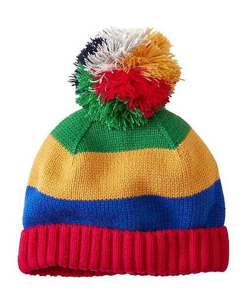 Kids Cozy Pom Hat by Hanna Andersson