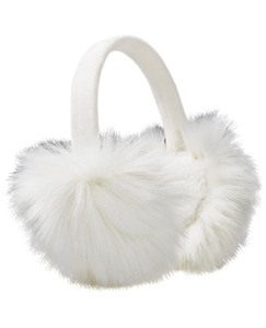 Kids Furry Ear Muffs by Hanna Andersson