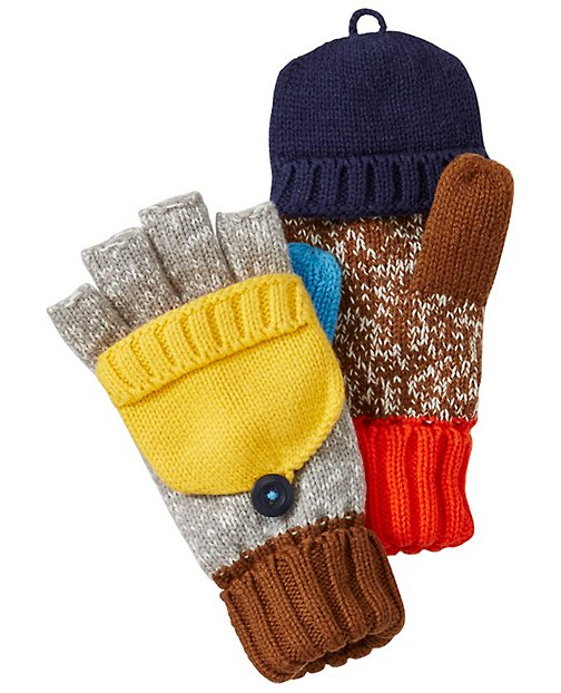 Kids Color Happy Convertible Mittens by Hanna Andersson