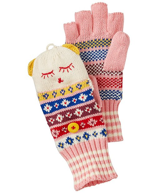 Kids Convertible Critter Mittens by Hanna Andersson