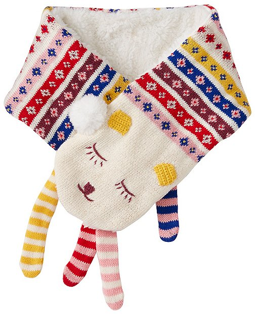 Kids Sherpa Lined Critter Scarf by Hanna Andersson