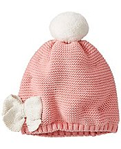 Kids Shimmery Fleece Lined Cap