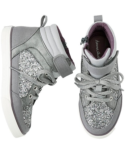 Ulla High Top Sneakers by Hanna Andersson