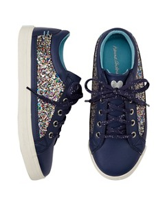Girls Elvira Glitter Sneakers by Hanna Andersson