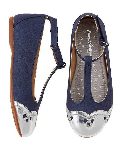 Girls Anita T-Strap Shoes by Hanna Andersson