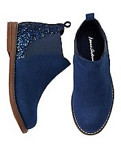 Brogan Glitter Ankle Boots by Hanna Andersson