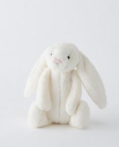 Small Bashful Cream Bunny By Jellycat