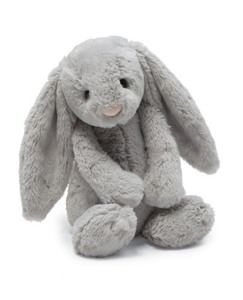 Bashful Grey Bunny By Jellycat
