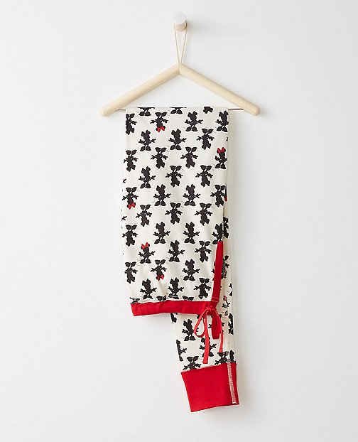 Women's Disney Minnie Mouse PJ Pants In Organic Cotton by Hanna Andersson