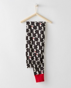 Adult Disney Mickey Mouse Long John Pajama Pants In Organic Cotton by Hanna Andersson