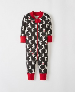 Baby Disney Mickey Mouse Baby Sleepers In Pure Organic Cotton by Hanna Andersson