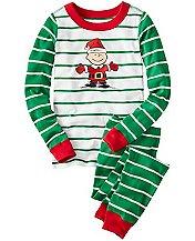 Kids Peanuts Long John Pajamas In Organic Cotton by Hanna Andersson