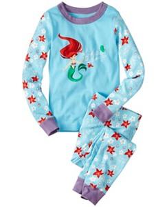 Kids Disney Princess Long John Pajamas In Organic Cotton by Hanna Andersson
