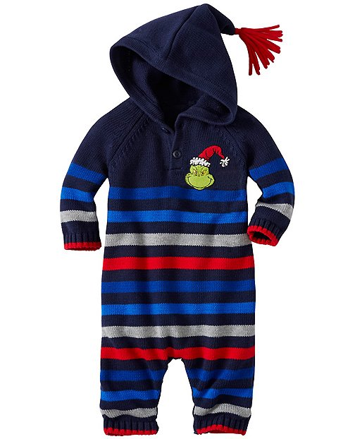 Baby Dr. Seuss Grinch Romper by Hanna Andersson