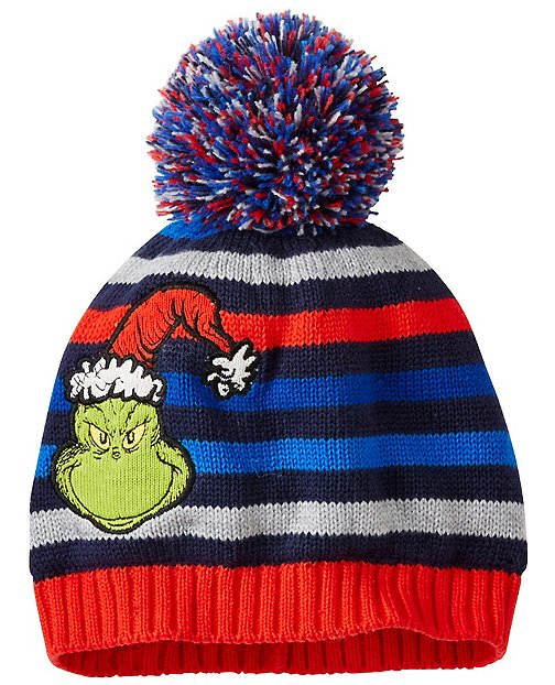 Kids Dr. Seuss Grinch Hat by Hanna Andersson