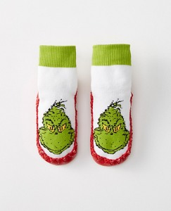 Dr. Seuss Grinch Moccasins by Hanna Andersson