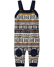 Baby Up North Sweater Overalls by Hanna Andersson