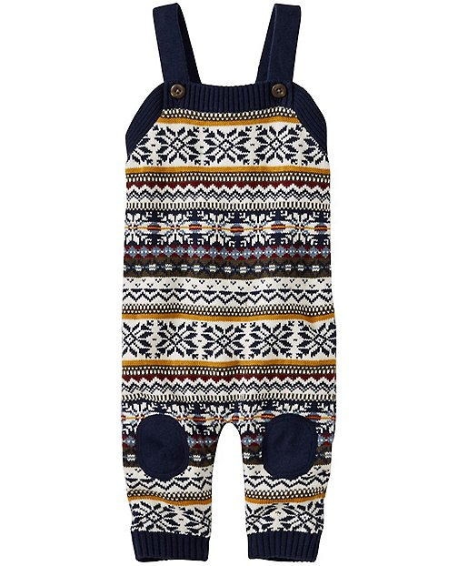 Up North Sweater Overalls by Hanna Andersson