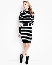 Women's Stripe Love Sweater Dress by Hanna Andersson