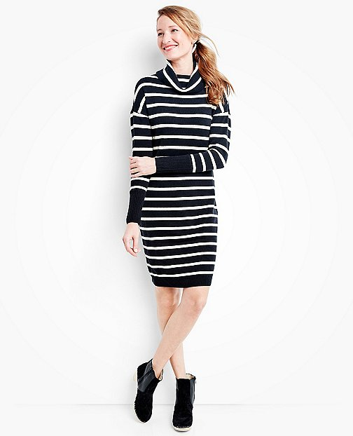 Women's Stripe Love Sweater Dress by Hanna Andersson