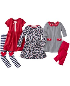 Five-Piece Wardrobe Set by Hanna Andersson