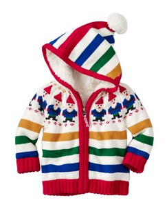 Baby Sherpa Lined Gnome Sweater by Hanna Andersson
