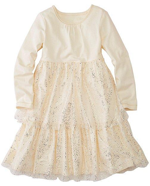 Girls Glitter Twirl Dress by Hanna Andersson