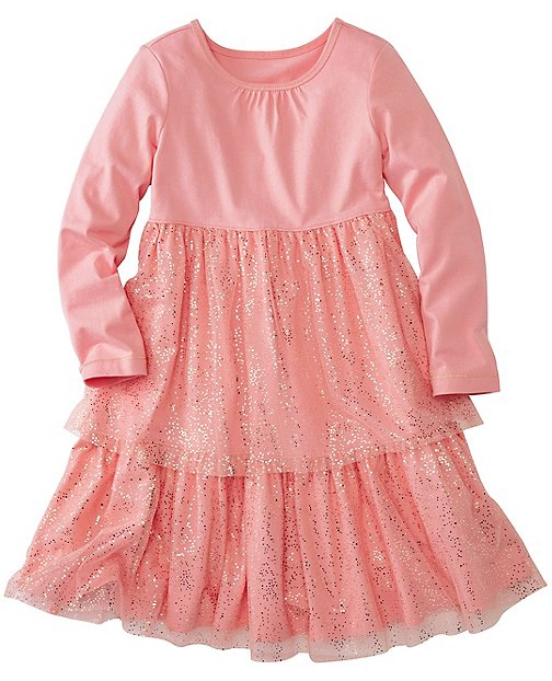 Girls Glitter Twirl Dress by Hanna Andersson