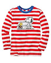 Boys Snoopy Be Mine Tee In Supersoft Jersey by Hanna Andersson