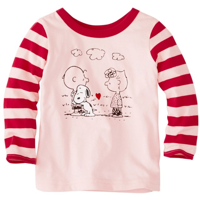 Baby Toddler Snoopy Be Mine Tee In Supersoft Jersey by Hanna Andersson