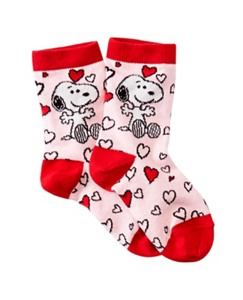 Kids Snoopy Be Mine Socks by Hanna Andersson