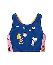 Peanuts Girls Tankini Top by Hanna Andersson