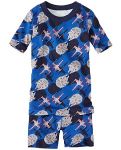 Star Wars™ Kids Short John Pajamas In Organic Cotton by Hanna Andersson
