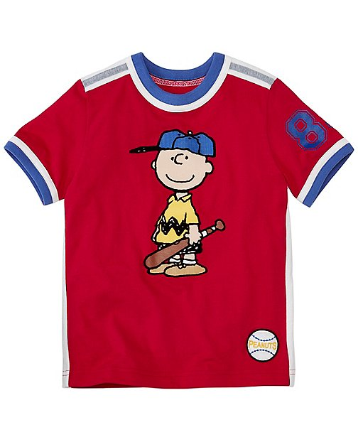 Peanuts Boys Art Tee in Supersoft Jersey by Hanna Andersson