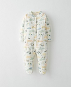 Disney Baby Winnie The Pooh Footed Sleepers In Organic Pima Cotton by Hanna Andersson