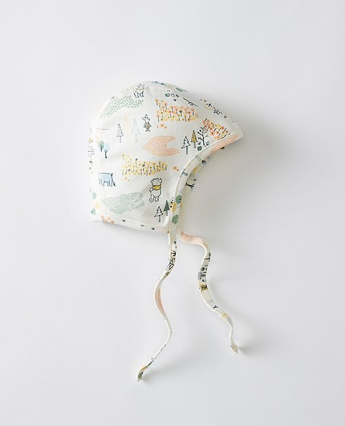 Disney Baby Winnie The Pooh Pilot Cap In Organic Pima Cotton by Hanna Andersson