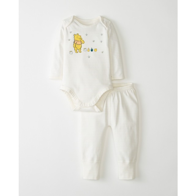 Disney Baby Winnie The Pooh Wiggle Set In Organic Cotton by Hanna Andersson