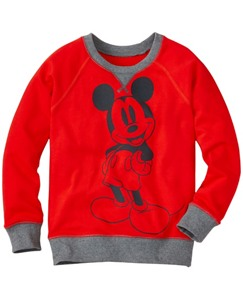 Boys Disney Mickey Mouse Sweatshirt by Hanna Andersson