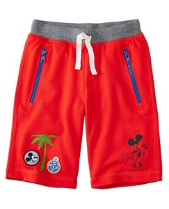 Boys Disney Mickey Mouse Drawstring Shorts by Hanna Andersson