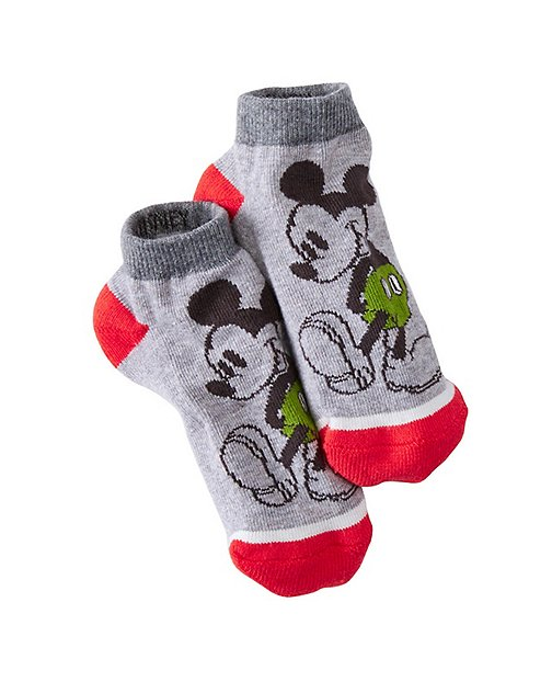 Kids Disney Mickey Mouse Ankle Socks by Hanna Andersson