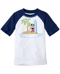 Boys Disney Mickey Mouse Sun-Ready Rash Guard by Hanna Andersson