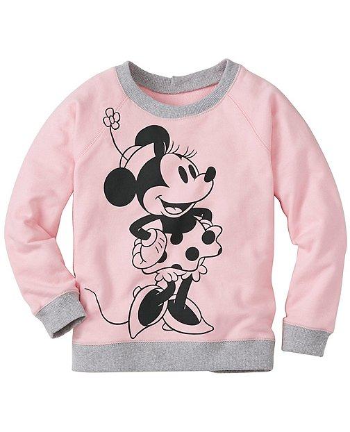 Girls Disney Minnie Mouse Sweatshirt by Hanna Andersson