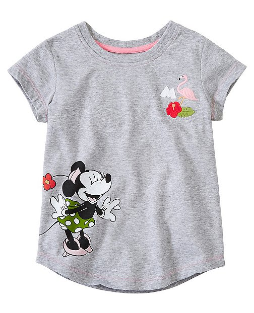 Girls Disney Mickey Mouse Tee In Supersoft Jersey by Hanna Andersson