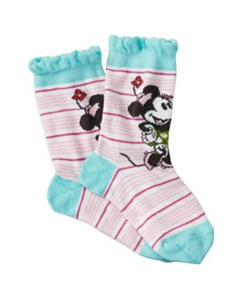 Kids Disney Minnie Mouse Ruffle Socks by Hanna Andersson